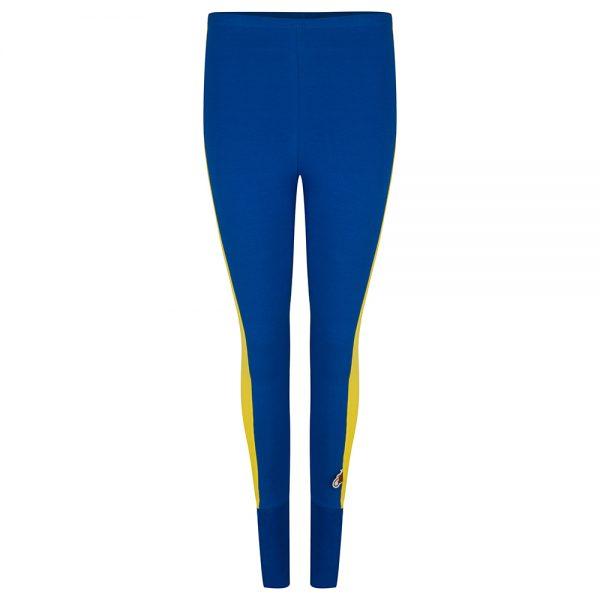 Legging Blauw - Geel