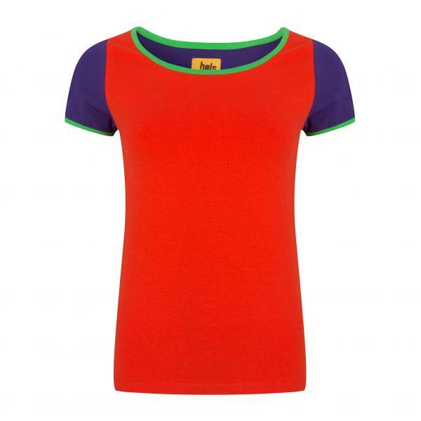 Shirt multi rood