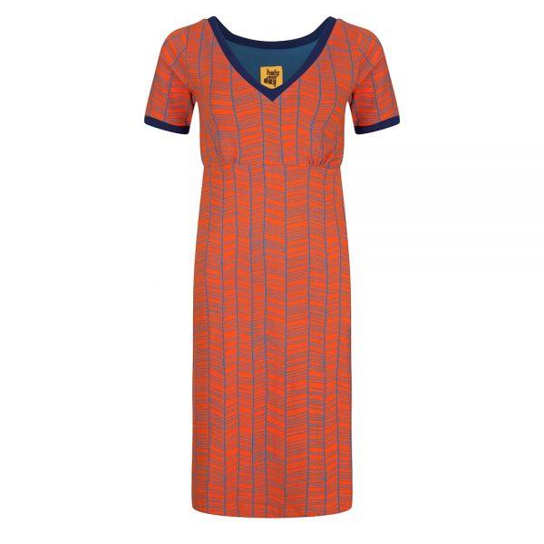 #106 Jurk oranje