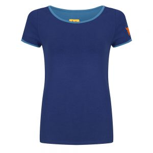 #97 Shirt Blauwe biezen