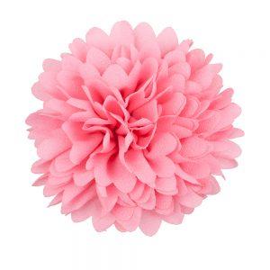 Bloem clip roze