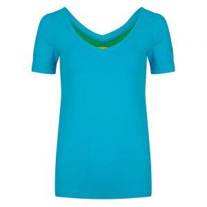 #131 Basis shirt turquoise