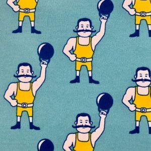 Jersey sterke mannen