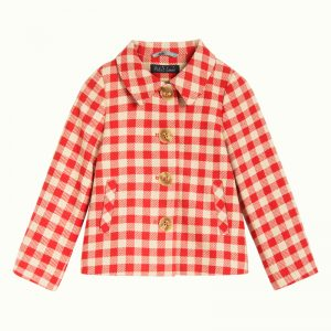 Anais Coat Nimes Check