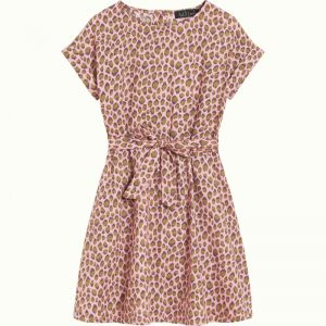Petit Louie: Betty Loose Fit Dress Panthera