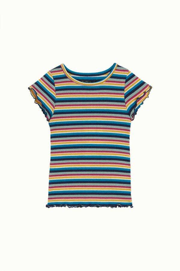 Frilly Tee Daydream Stripe