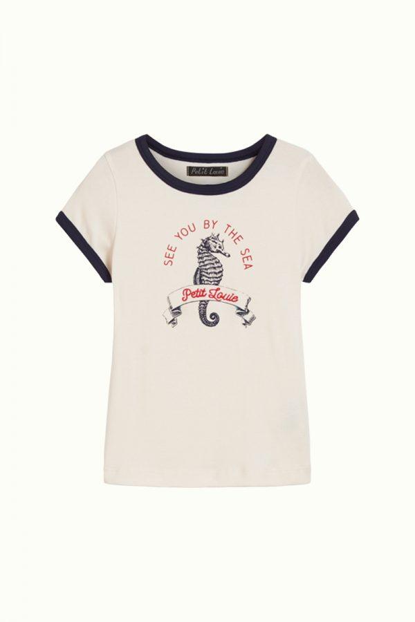 Petit Louie: Seahorse Tee
