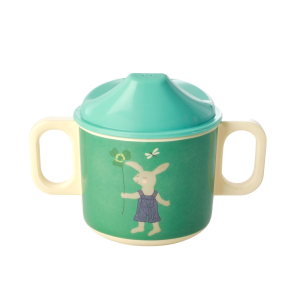 MELAMINE BABY CUP - BUNNY PRINT