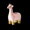 bloempot roze rice