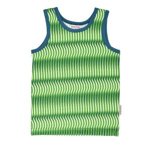 Tank top baba wear waves retro