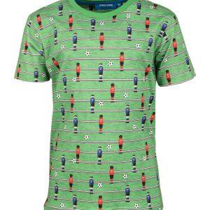 Someone shirt voetbal FOOSBALL-SB-02-C_GREEN MELANGE