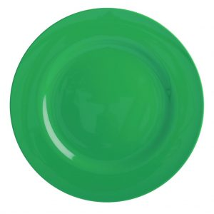 Groen melamine bord van RICE