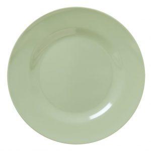 RICE: Rond diner bord - Khaki