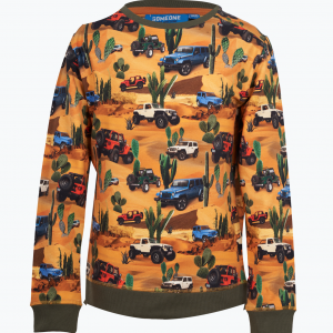 Someone sweater jeep