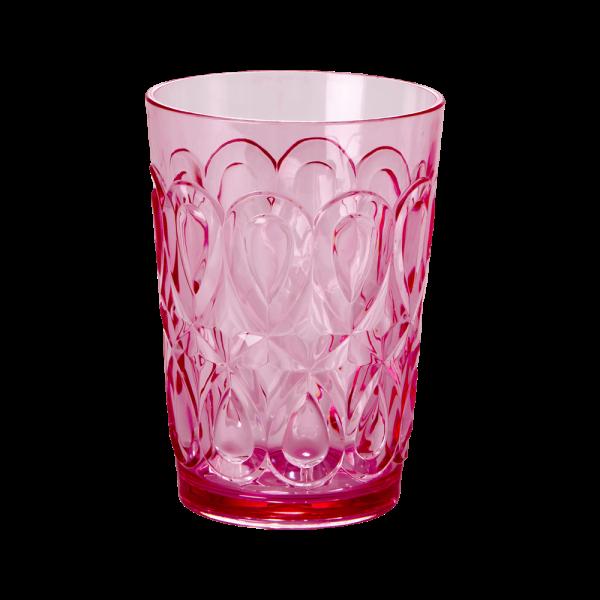 RICE: ACRYLIC GLASS PINK