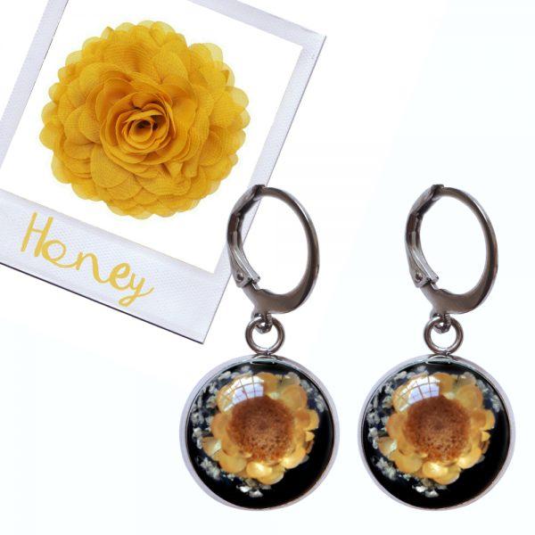 set honey bloem honey roos