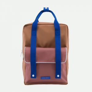 Sticky lemon large backpack envelope deluxe | sugar brown