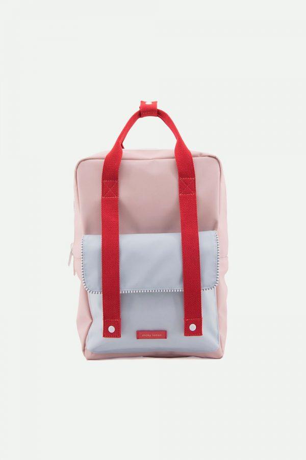 Sticky Lemon large backpack envelope deluxe   mendl's pink