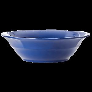 RICE: Melamine soep kom - Marine blauw