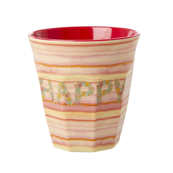 Happy pink beker melamine RICe dk MELCU-HAPI_1