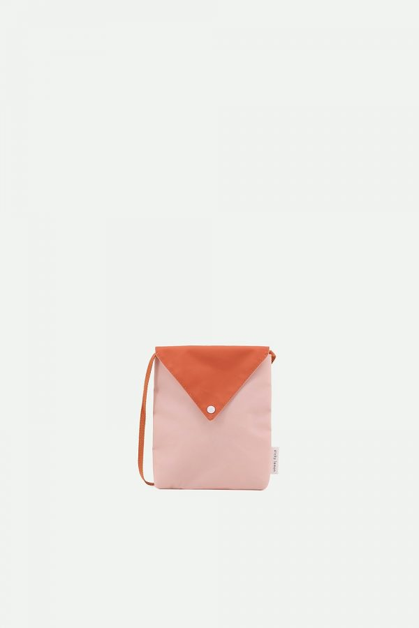 Sticky Lemon | envelope bag | peony pink