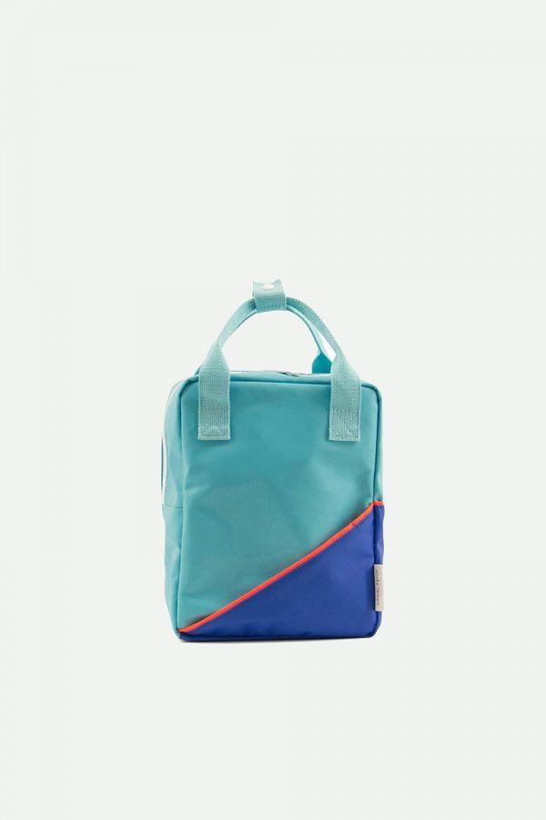 Sticky Lemon | small backpack diagonal | retro mint