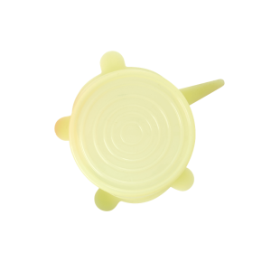 RICE: SMALL SILICONE LID Yellow