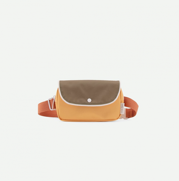 Sticky Lemon: Fanny pack wanderer | faded orange + seventies green + retro yellow