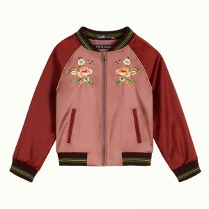 Petit Louie: Baseball Jacket Cherrybird