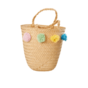RICE: Raffia Beach Bag