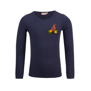 Someone: Long sleeve BAMBI navy BAMBI-SG-03-A_NAVY_F