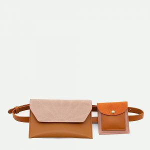 The Sticky Sis Club: Belt bag | coloré | cinnamon brown