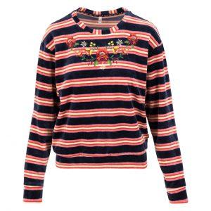 Blutsgeschwister: Samtpfoten sweater Wat een mooie sweater. Heerlijk zachte velours en een prachtige borduring. Super tof! 38 %BIO katoen   37% viscose   25% polyester