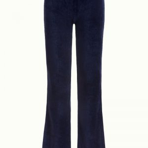 King Louie: Flared Legging Rib Velours