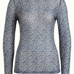 King Louie: Betsy Rollneck Top Moonlight