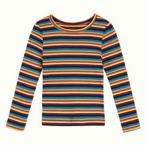 Petit Louie: Puff T-Shirt Daydream Stripe