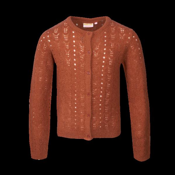 SOMEONE: Vest JADE cognac