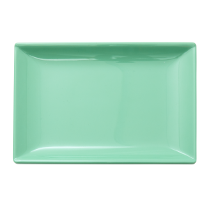 RICE: Melamine Sushi bord - Believe in Red Lipstick Groen