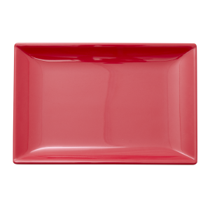 RICE: Melamine Sushi bord - Believe in Red Lipstick Rood