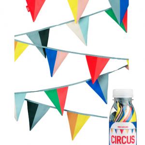 ENGELpunt: Stoffen slinger 'Circus' Mini