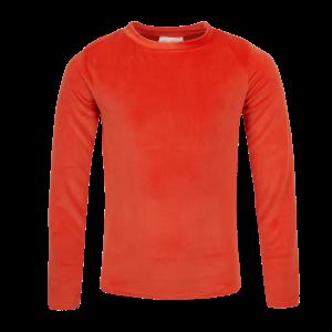 Mini Rebels: Super zachte long sleeve orange