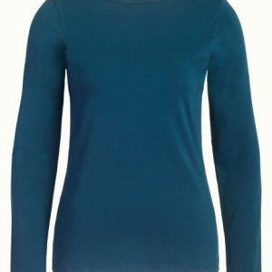 King Louie: Milou Top Cotton Lycra Light Pond Blue