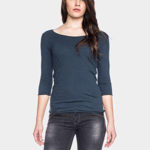 ATO Berlin: shirt CAJA donker blauw