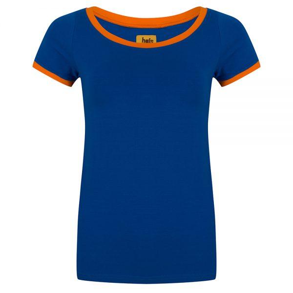 Heerlijk strak basis shirt. 95% katoen | 5% elastan