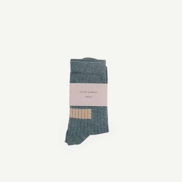 Super mooie sokken van Monk & Anna 80% cotton   17% polyamide   3% elastan made in Portugal