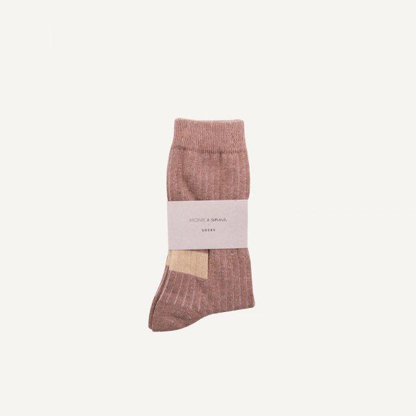 Monk & Anna: Sokken | Hazelnut