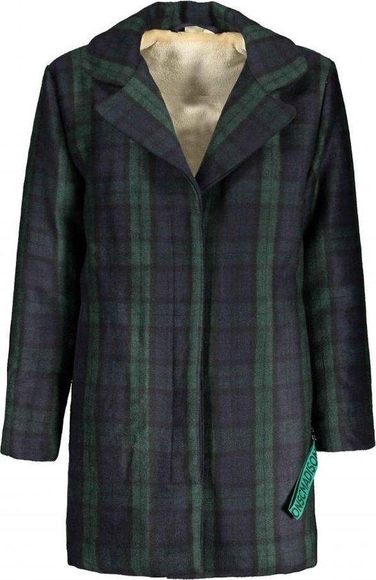 Street Called Madison MY GIRL wool jacket is heerlijk warm. Deze geruite, wollen lange jas met teddy voering heeft steekzakken en een knoopsluiting. Wooly girl! 50% wol | 50% polyester