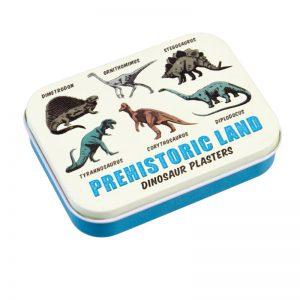 Rex London: Pleisters Dino Blikje met 30 pleisters. Te leuk!