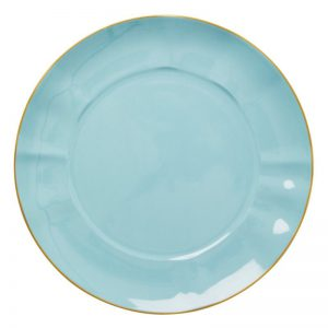 RICE: Porseleinen Dinerbord Mint