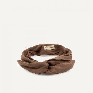 Monk & Anna: Haarband | linnen | cacao